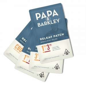 Papa and Barkley Releaf Patches