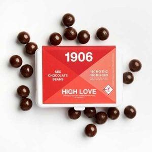 1906 brand high love chocolates