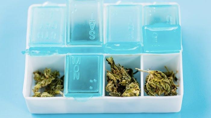 micro-dose for medical marijuana patients