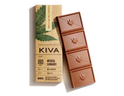 KIVA Vanilla chai milk chocolate