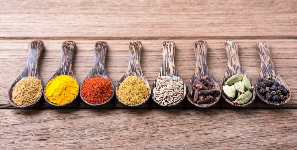 herbs and spices are a natural remedy for bloating