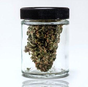 Cannabis storage jar