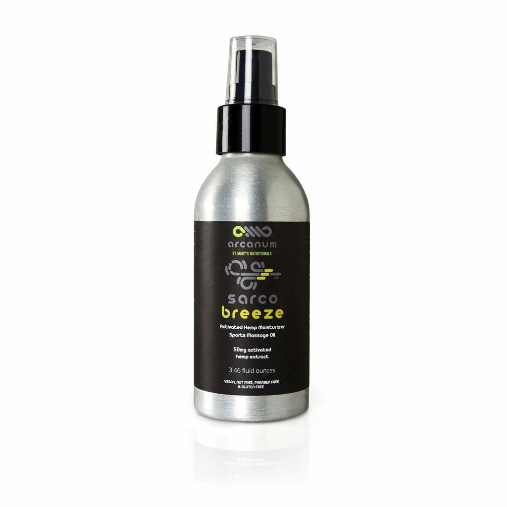 Arcanum Sarco Breeze Sports Massage Oil
