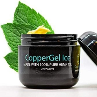 Coppergel Ice with Pure Hemp Oil