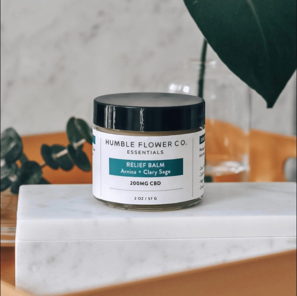Humble Flower Co Arnica & Clary Sage CBD Balm