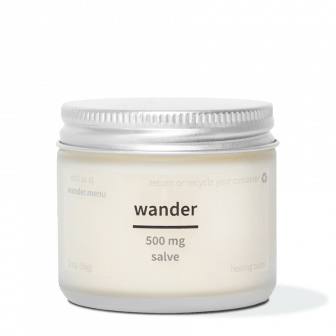 Wander 500mg CBD Salve HQ