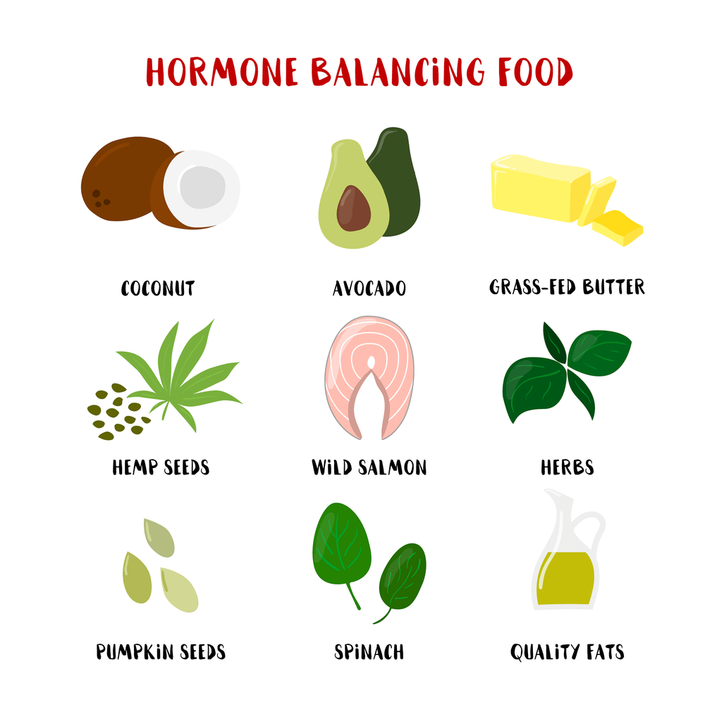 Foods that balance hormones naturally