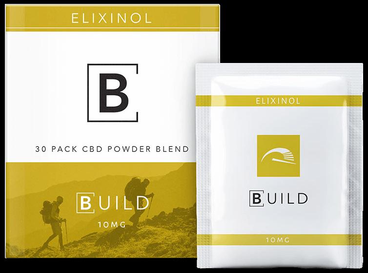 elixinol build cbd powder