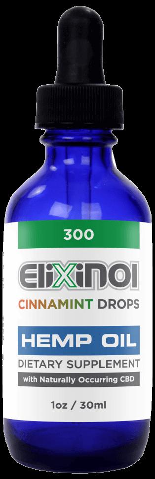 elixinol hemp oil cinnamint
