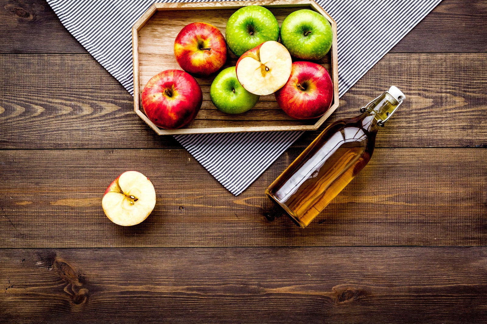 apple cider vinegar cbd drink