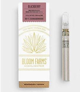 bloom farms blackberry vape