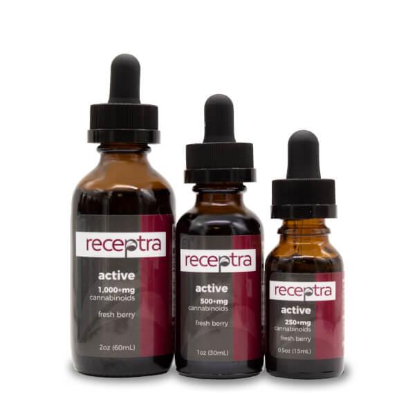 receptra active naturals cbd tincture