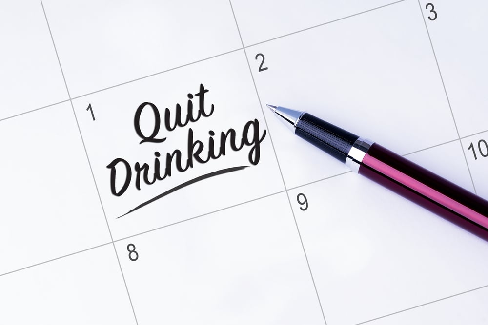 quit drinking alcohol new year 2020