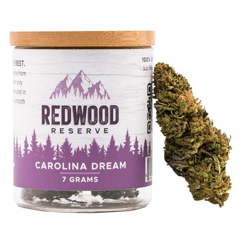 RedWood Reserves Carolina Dream CBD Flower 7 grams