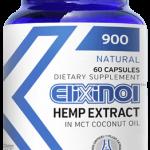 a container of Elixinol DREAM CBD powder