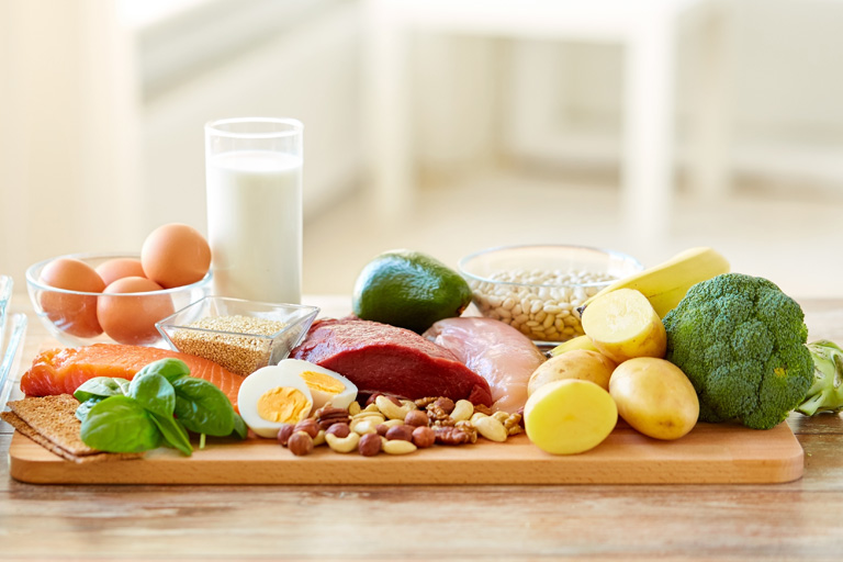 Eat a Balance Diet to Boost Your Immune System