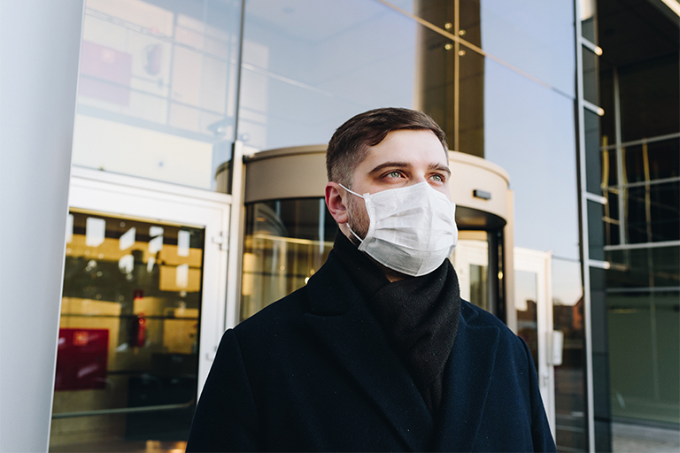 boost your immune system with masks and CBD